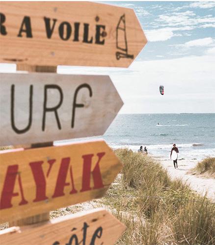 Surf Kayak Ou Char A Voile Avec Les Moniteurs De Nature School Quiberon